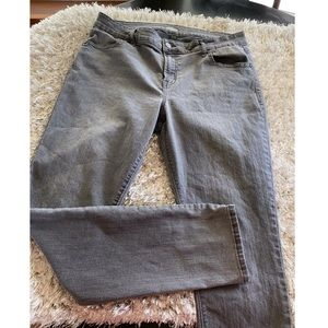 Old Navy Grey Super Skinny Jeans Size 14